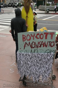"""Occupy Los Angeles News - """"March Against Monsanto"""" - Los Angeles California"""