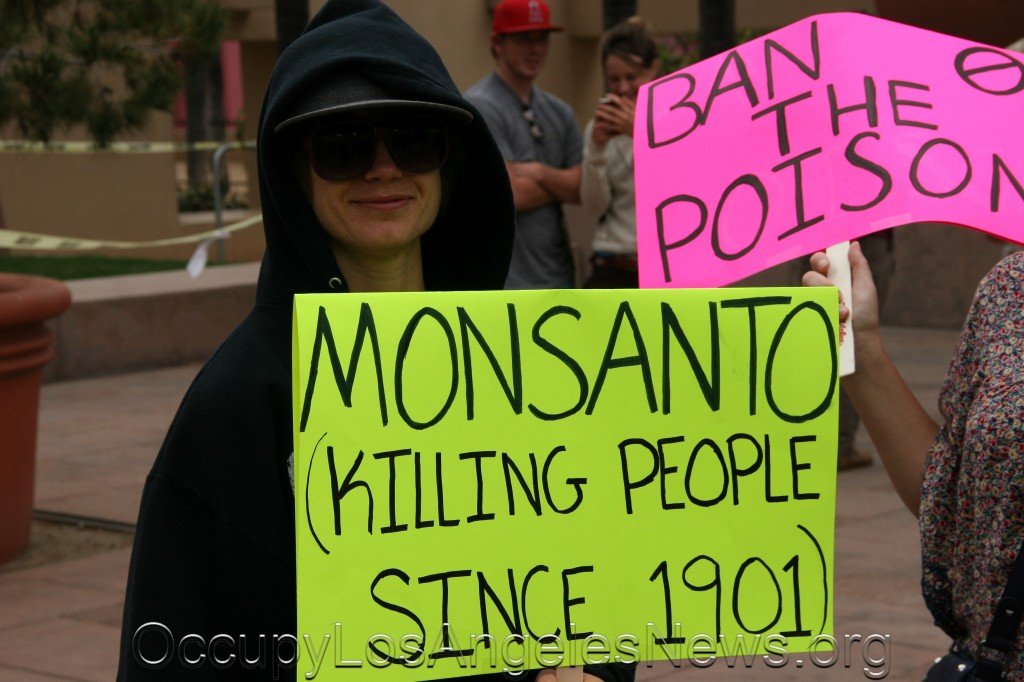 Occupy Los Angeles News - March against Monsanto - Contemplative Series 2013 Reflective