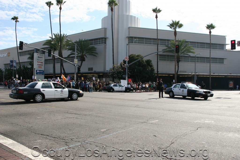 Organized March for Florida murdered teen Trayvon Martin 7.14.2013 - Leimert Park Los Angeles