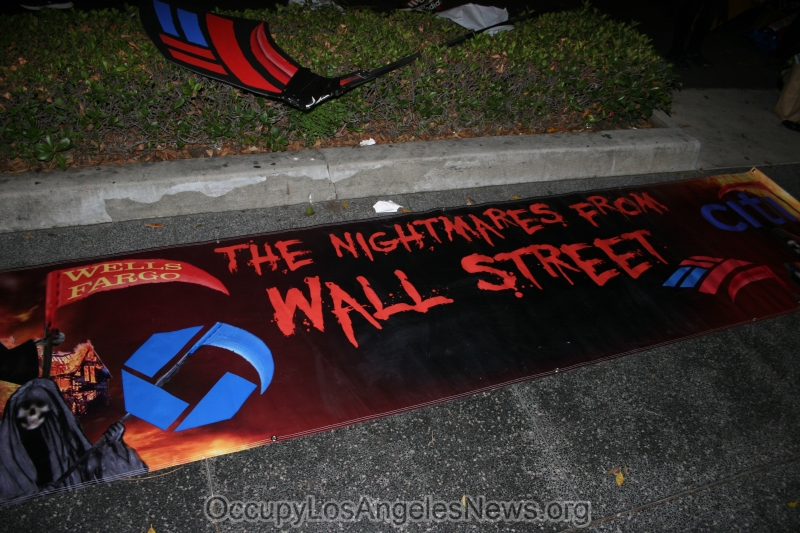 """""""The problem with this country. The muslims."""" This is what an anti-Occupy LA Halloween protestor said to an Occupier.  """"The problem is the predominantly white 1% controlling this country's resources and wealth"""" the Occupier shot back."""