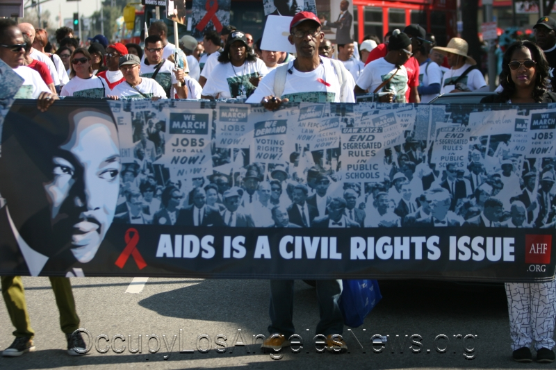 Martin Luther King Parade 2015 - Los Angeles