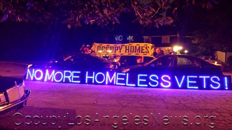 Occupy Los Angeles News' Year in Review…Occupy Homeless Vets 2014…Posts From Occupy Los Angeles News' Facebook Page https://www.facebook.com/OccupyLANews
