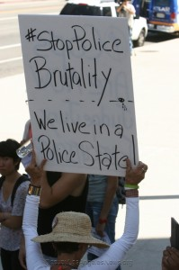 """""""LAPD Cops Killed 600+ Since 2000....None Got Convicted."""" Los Angeles: Justice For Africa Protestor"""