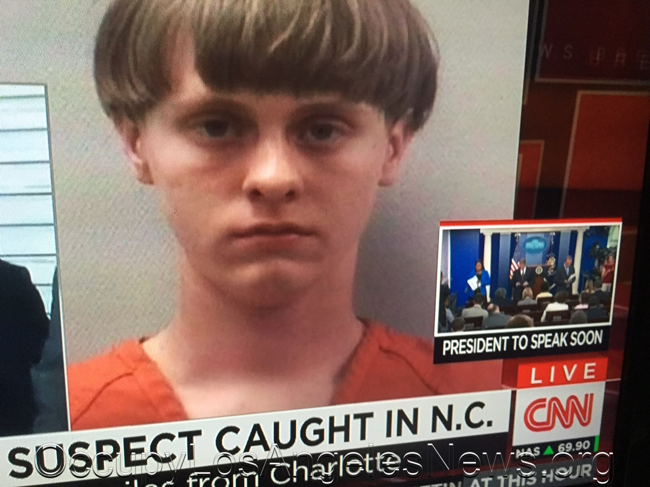 South Carolina White Supremacist Dylann Roof Said To Have