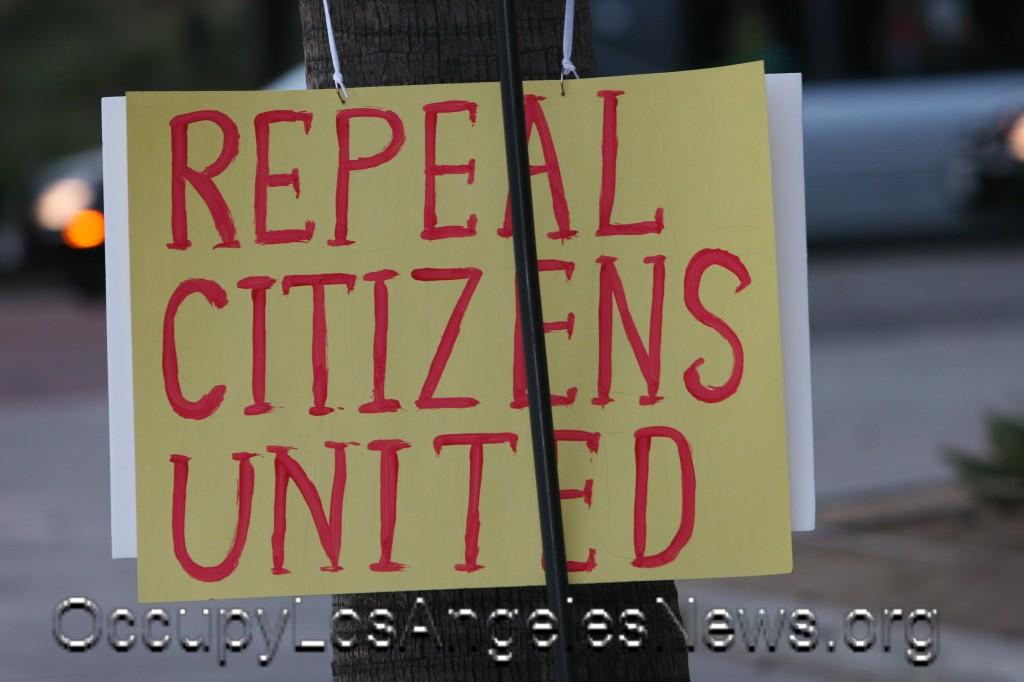 "We Will ""Repeal Citizens United"" Promised Democratic Presumptive Nominee Hillary Clinton and Senator Elizabeth Warren"